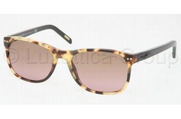 Ralph RA5084 Sunglasses with No-Line Progressive Rx Prescription Lenses RA5084-810-14-5217 - Lens Diameter: 52 mm, Frame Color: Spotty Tortoise Black