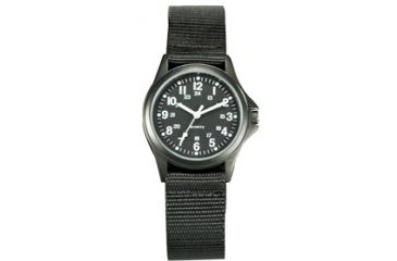Ram Instrument Field Watch, All Black Case and Strap RAMW1002B