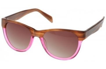 Randees Kandees 2 Single Vision Rx Sunglasses - Brown-Magenta Frame, Brown-Magenta, 52-17-135 RK2-201RX
