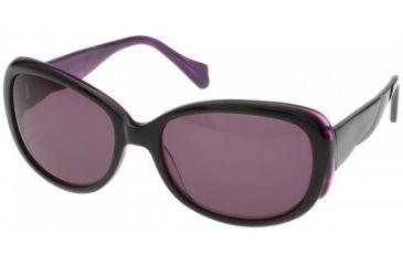 Randees Kandees 3 Single Vision Rx Sunglasses - Black-Purple Frame, Black-Purple, 57-18-135 RK3-301RX