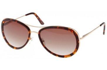 Randees Kandees  7 Sunglasses - Black-Gunmetal Frame, Grey Lenses  58-15-135 RK7-100