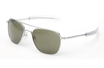 0d652140e8 Randolph Matte Chrome Aviator Sunglasses