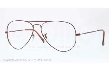 5-Ray-Ban Aviator Eyeglass Frames RX6049