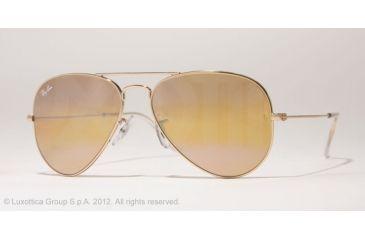 Ray-Ban Aviator Large Metal Prescription Sunglasses RB3025 RB3025-001-4F-55 -