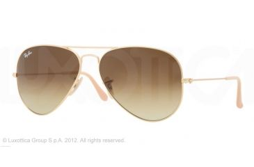 Ray-Ban Aviator Large Metal Bifocal Sunglasses RB3025 with Lined Bi-Focal Rx Prescription Lenses RB3025-112-85-55 -