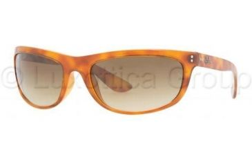 Ray-Ban BALORAMA RB4089 Single Vision Prescription Sunglasses RB4089-803-51-6219 - Lens Diameter: 62 mm, Frame Color: Yellow Havana