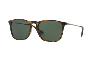 5de9190134 Ray-Ban CHRIS RB4187 Single Vision Prescription Sunglasses RB4187-710-71-54