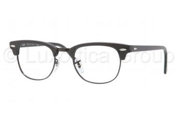 Ray-Ban Clubmaster Eyeglasses RX5154 with Rx Prescription Lenses 2077-4921 - Matte Black Frame