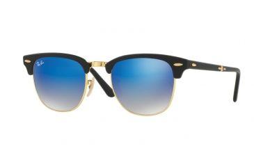 904dfbe9e5a Ray-Ban CLUBMASTER FOLDING RB2176 Single Vision Prescription Sunglasses  RB2176-901S7Q-51 -