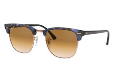 71caec645 Ray-Ban Clubmaster RB3016 Sunglasses with No-Line Progressive Rx  Prescription Lenses RB3016-