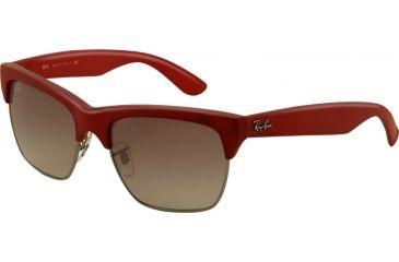 Ray-Ban DYLAN RB4186 Progressive Prescription Sunglasses RB4186-600111-5719 - Lens Diameter 57 mm, Frame Color MARC/Gunmetal Rubber