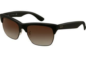 Ray-Ban DYLAN RB4186 Progressive Prescription Sunglasses RB4186-622-8G-5719 - Lens Diameter 57 mm, Frame Color Black Rubber/Black