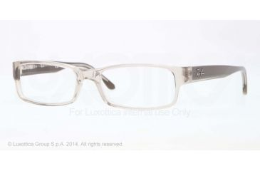Ray-Ban Eyeglasses RX5114 with Lined Bifocal Rx Prescription Lenses 5234-52 - Trasparent Beige Frame