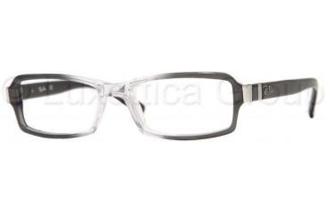 Ray-Ban Eyeglass Frames RX5133Q, Transparent Frame, 54mm Lens Diameter