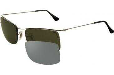 Ray-Ban FLIP OUT RB3499 Sunglasses 004/9A-5818 - Gunmetal Frame, Green Lenses