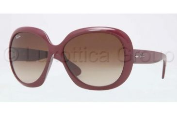 Ray-Ban Jackie OHH II Sunglasses RB4098 601013-6014 - Bordeaux Frame, Brown Gradient Lenses
