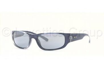 ea8f5b4ee1 Ray-Ban Junior RJ9034S Bifocal Sunglasses - Dark Blue Transparent Blue  Silver Gradient Frame