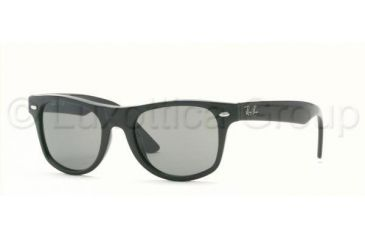 RayBan Junior RJ9035S Sunglasses with No Line Progressive Rx Prescription Lenses RJ9035S-100-71-4417 - Frame Color: Black, Lens Diameter: 44 mm