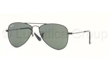 Ray-Ban Junior RJ9506S Bifocal Sunglasses - Matte Black Frame / 50 mm Prescription Lenses, 201-71-5013
