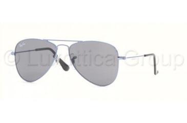 Ray-Ban Junior RJ9506S Bifocal Sunglasses - Shiny Light Blue Frame / 50 mm Prescription Lenses, 210-87-5013