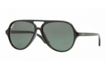 Ray Ban Junior RJ9049S #100/71 - Black Frame, Green Lenses