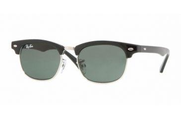 Ray Ban Junior RJ9050S #100/71 - Black Frame, Green Lenses
