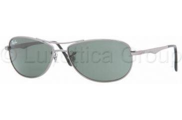 Ray-Ban Junior RJ9528S Sunglasses 200/71-5213 - Gunmetal Gray Green