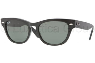 Ray-Ban LARAMIE RB4169 Bifocal Prescription Sunglasses RB4169-601-5318 - Lens Diameter 53 mm, Frame Color Black