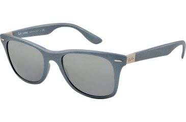 Ray-Ban LITEFORCE RB4195 Bifocal Prescription Sunglasses RB4195-601788-52 - Lens Diameter 52 mm, Lens Diameter 52 mm, Frame Color Silver