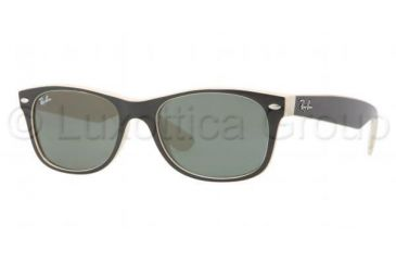 137cbd3d7 Ray-Ban New Wayfarer Prescription Sunglasses RB2132 RB2132-875-5218 - Lens  Diameter