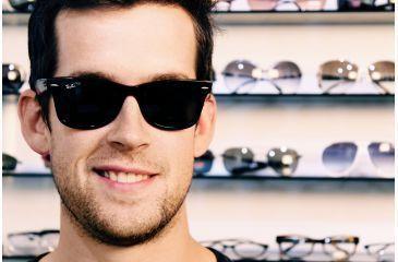1078f98cd ... original wayfarer sunglasses 44790 a7f0a; coupon ray ban rb2140 bifocal  sunglasses black crystal green frame 50 mm prescription lenses 07a7a 50254