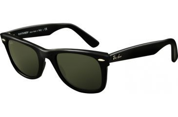 Ray-Ban RB2140 Progressive Sunglasses - Black Crystal Green Frame / 54 mm Prescription Lenses, 901-5418