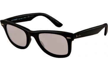 Ray-Ban Original Wayfarer Sunglasses RB2140 901SP2-50 - Matte Black Frame, polar grey Lenses