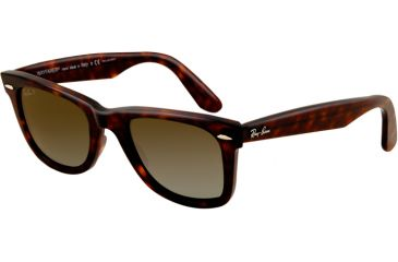 Ray-Ban Original Wayfarer Sunglasses, Tortoise Crystal Brown Polarized Frame / Polarized 54mm Lenses 902-57-5418