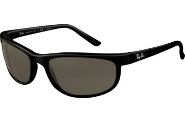 Ray-Ban RB 2027 Sunglasses Styles Black Frame / Polarized Crystal Mirror Gray Lenses, 601-W1-6200