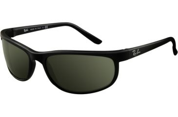 Ray-Ban RB 2027 Sunglasses Styles Black/Matte Black Frame / Crystal Green Lenses, W1847-6200