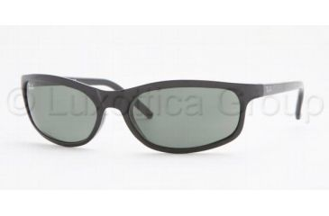 b2d0ee0812 Ray-Ban RB 2030 Sunglasses Styles - Glossy Black Frame   Crystal Green  Lenses