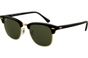 Ray-Ban RB3016 Progressive Sunglasses - Ebony Arista Crystal Green Frame    49 mm 7e41ab48c7f1