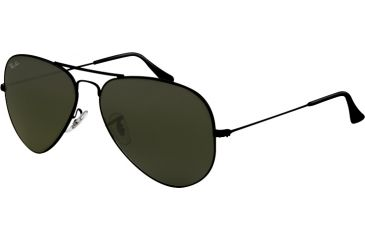 Ray Ban RB3025 Bifocal Sunglasses, Black Frame / 58 mm Prescription Lenses, L2823 5814