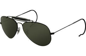 Ray-Ban RB3030 SV Prescription Sunglasses - Black Frame / 58 mm Prescription Lenses, L9500-5814
