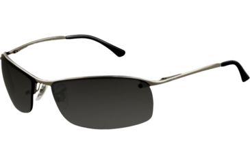 Ray-Ban RB 3183 Sunglasses, Gunmetal Frame / Polarized Gray Mirror Silver Grad. Lenses, 004-82-6315