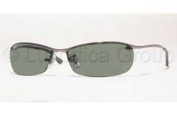 Ray-Ban RB 3186 Sunglasses Styles - Gunmetal Frame / Green Lenses, 004-71-6315