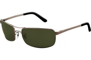 Ray-Ban Bifocal Sunglasses RB3212 with Lined Bi-Focal Rx Prescription Lenses RB3212-004-9A-6118 - Lens Diameter: 61 mm, Frame Color: Gunmetal