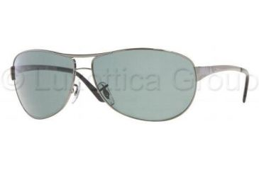 56cec5ed81 Ray-Ban RB 3342 Sunglasses Styles - Gunmetal Frame / Crystal Green 60 mm  Diameter