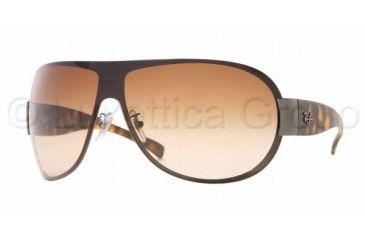 Ray-Ban RB 3350 Sunglasses Styles - Gunmetal Frame / Brown Gradient Lenses, 004-13-0140