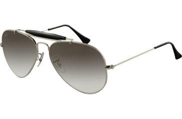 af7be39b1a Ray-Ban RB3407 Progressive Sunglasses - Silver Frame   55 mm Prescription  Lenses