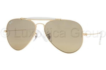 Ray-Ban RB3407 Bifocal Sunglasses - Arista Frame / 55 mm Prescription Lenses, 001-3K-5514