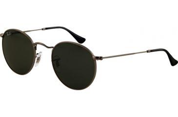 Ray-Ban RB 3447 Sunglasses Styles - Matte Gunmetal Frame / Crystal Green Lenses, 029-5021