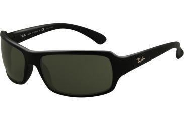 Ray-Ban Bifocal Sunglasses RB4075 with Lined Bi-Focal Rx Prescription Lenses RB4075-601-58-6116 - Lens Diameter: 61 mm, Frame Color: Black