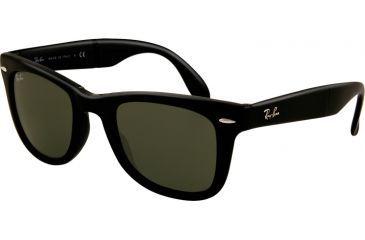 Ray-Ban RB4105 SV Prescription Sunglasses - Black Frame / 50 mm Prescription Lenses, 601-5022